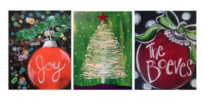 Family Friendly Paint Night Pick Your Favorite