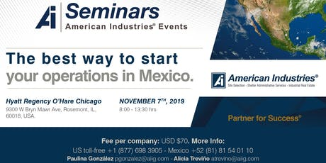 The best way to start your operations in Mexico tickets