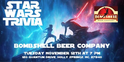 Star Wars Trivia at Bombshell Beer Company