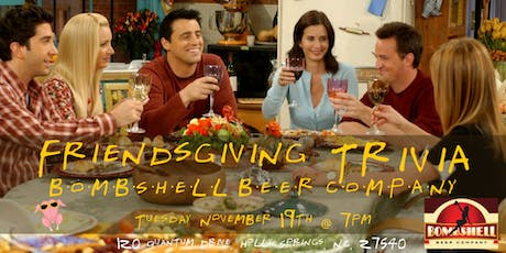 Friendsgiving Trivia at Bombshell Beer Company tickets