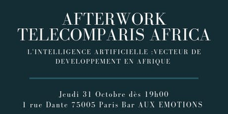 Digital Afterwork Club TelecomParis Africa  billets