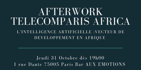 Digital Afterwork Club TelecomParis Africa