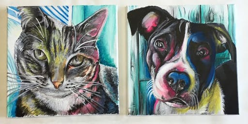 Paint Your Pet: Deep Eddy Vodka at the Blind Pig
