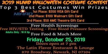 NLAAD 2019 Halloween Costume Contest tickets