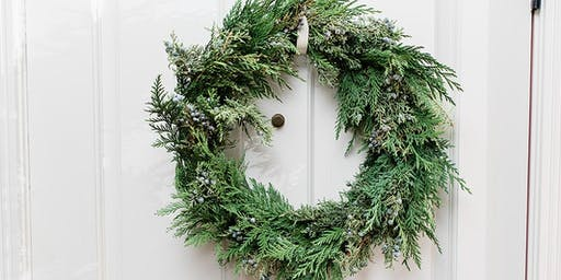 TRADITIONAL FRESH CHRISTMAS WREATH WORKSHOP