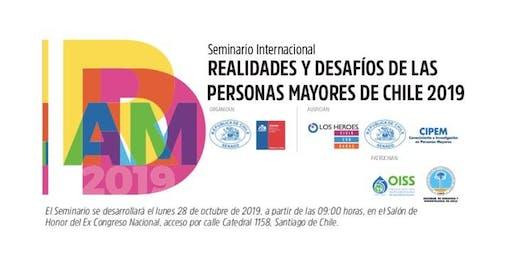 SEMINARIO INTERNACIONAL DESAFÍOS DEL ENVEJECIMIENTO EN CHILE 2019