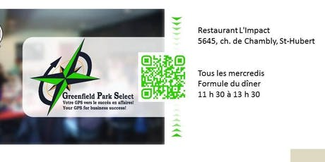 Diner réseautage billets