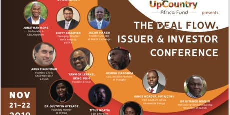 2019 November 21 & 22, The Deal Flow, Issuer & Investor Conference. tickets