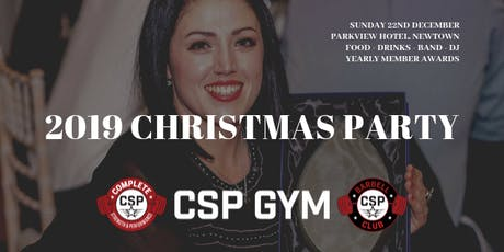 CSP GYM XMAS PARTY & AWARDS NIGHT tickets