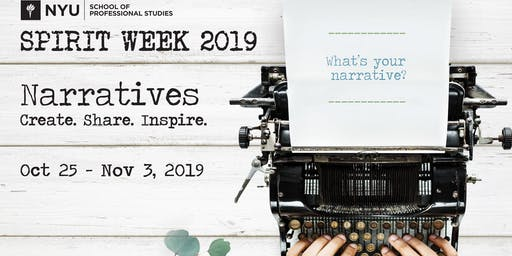 NYUSPS Spirit Week 2019 Narratives Summit