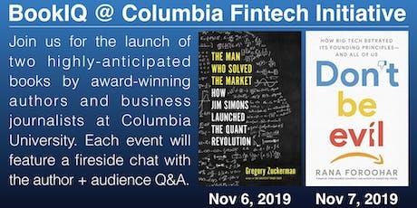 Book Launch - Columbia Fintech Initiative (fintech.gsb.columbia.edu) tickets