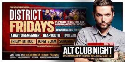 DISTRICT Southampton // Alt & Emo Club Night // This Friday at Suburbia