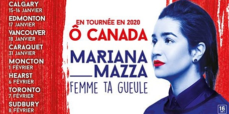 Spectacle Mariana Mazza + discussion tickets