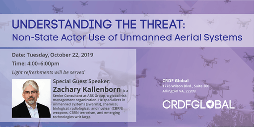Understanding the Threat: Non-State Actor Use of Unmanned Aerial Systems