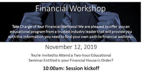 Prudential Pathways Financial Workshop tickets