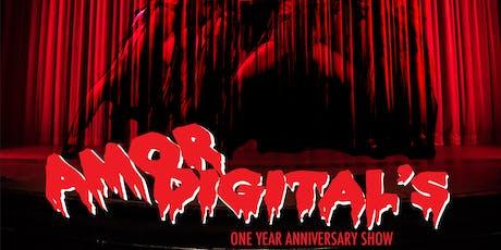 Amor Digital's 1 Year Anniversary tickets