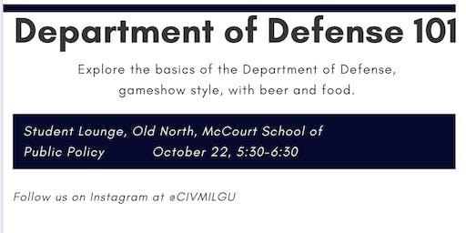 Department of Defense 101