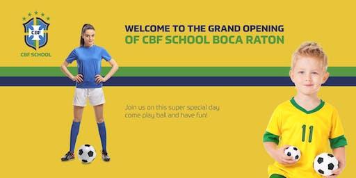CBF School Boca - Grand Opening - Free Soccer Clinic