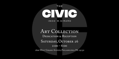 The Civic Art Collection: Dedication & Reception tickets