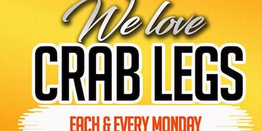 $20 Crab Legs - Free Rum Punch & Sangria - Free hookah