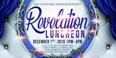 2019 Revelation Luncheon - Fellowship Hall Grand Opening!