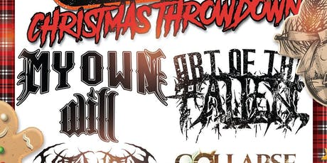 Roxx100.com Christmas Throwdown w. My Own Will and more! tickets
