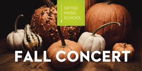 Gifted Music School 2019 Fall Concert tickets
