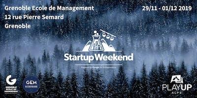 Startup Weekend Grenoble #9