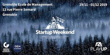 Startup Weekend Grenoble #9 billets