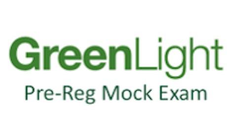 Manchester - Green Light Pre-reg Mock Exam - 7th June 2020 tickets