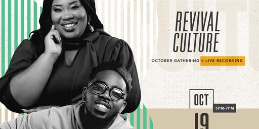 Revival Culture Encounter Weekend - October