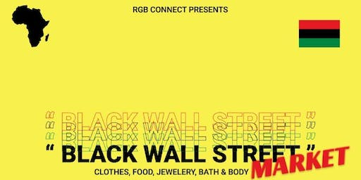 (Black Friday)black Wall Street market