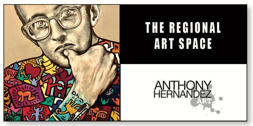 ANTHONY HERNANDEZ - NEW PAINTINGS - THE REGIONAL - ART SPACE