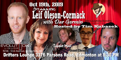 The Laughing Bandits Comedy Starring Leif Oleson-Cormack tickets