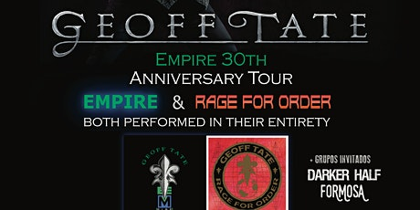 Geoff Tate -Empire 30th anniversary tour entradas