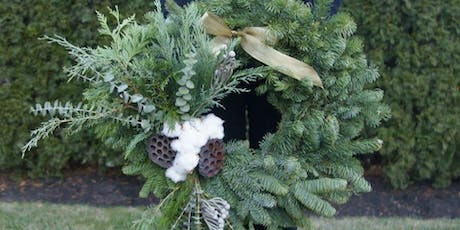 Wintry Wreath Workshop at PA Market with Alice's Table tickets