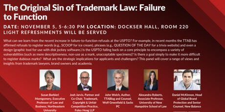 The Original Sin of Trademark Law: Failure to Function tickets