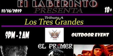 Los 3 Grandes Tributo Avalancha/Caifanes/SodaStereo tickets