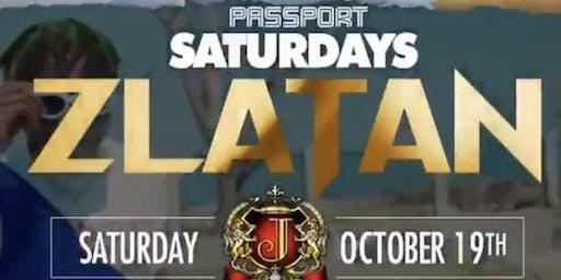 ZLATAN hosts PASSPORT SATURDAY'S at JOSEPHINE LOUNGE | 10.19.10