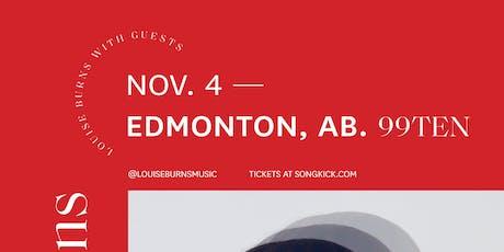 Louise Burns w/ Alexandria tickets