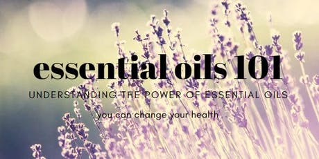 essential oils 101 class tickets
