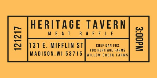 Heritage Tavern Meat Raffle