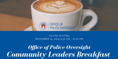 OPO Community Leaders Breakfast tickets