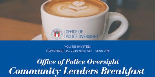 OPO Community Leaders Breakfast