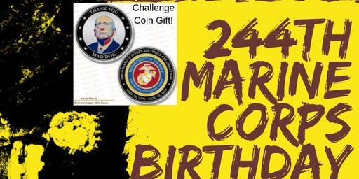 Formal Marine Corps Birthday Celebration