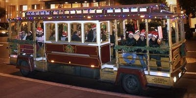Cable Car Ride to View Holiday Lights in Willow Glen -Sunday, Dec. 08, 2019, 8:15pm Ride