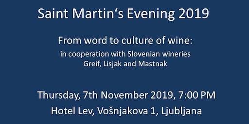 Saint Martin's Evening 2019