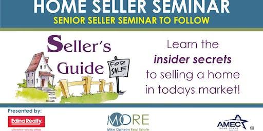 Home Seller Seminar & Senior Seller Seminar