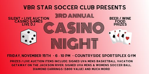 3rd Annual VBR Star Casino Night