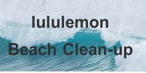 lululemon Beach Clean-Up